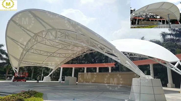 Shenzhen Biling Culture Square Steel Membrane Structure Engineering